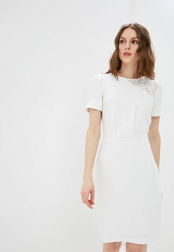 женское платье-футляр morgan, белое