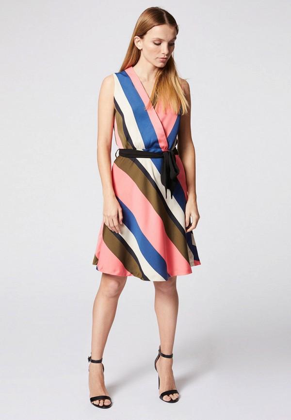 женское повседневные платье morgan, разноцветное