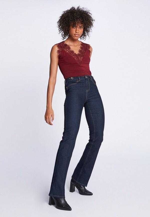 Фото 2 - женские джинсы Morgan синего цвета