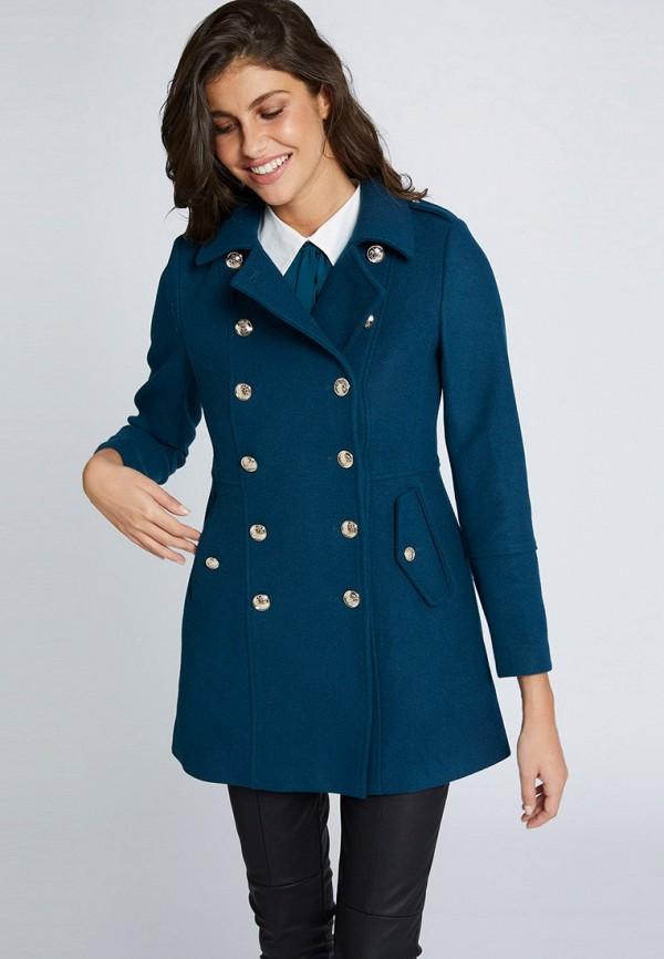 женское пальто morgan, синее