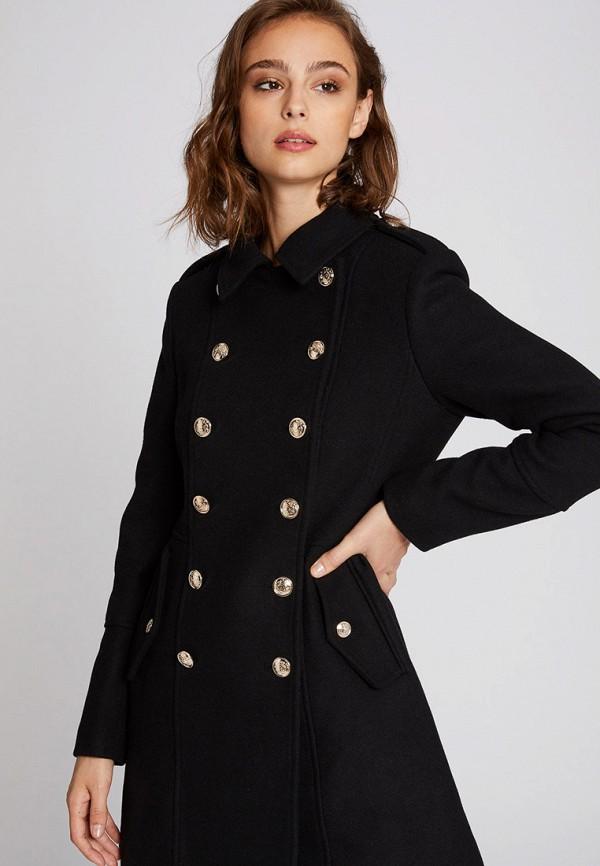 женское пальто morgan, черное