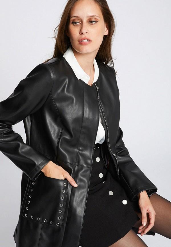 Куртка кожаная Morgan Morgan MO012EWFVQO1 майка morgan morgan mo012ewzim07