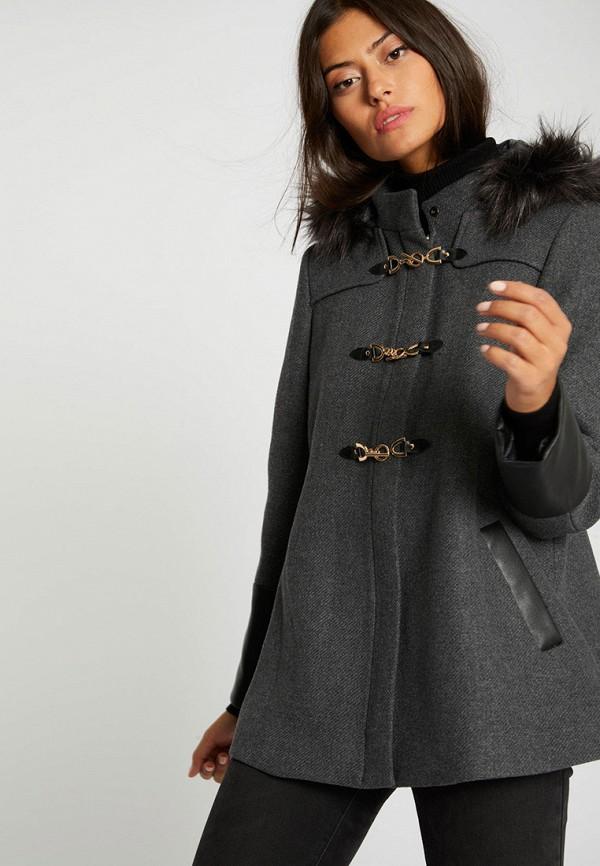 женское пальто morgan, серое