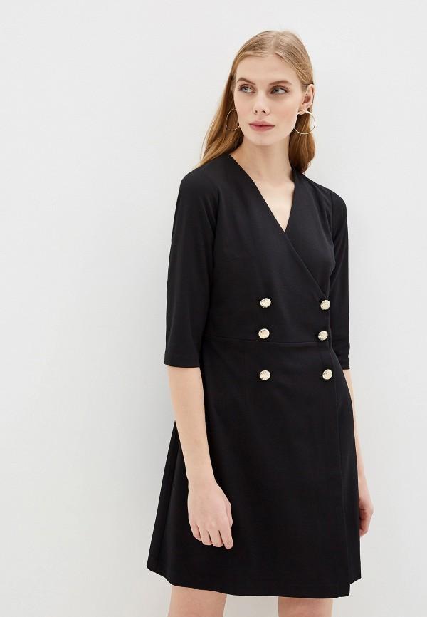 женское платье morgan, черное