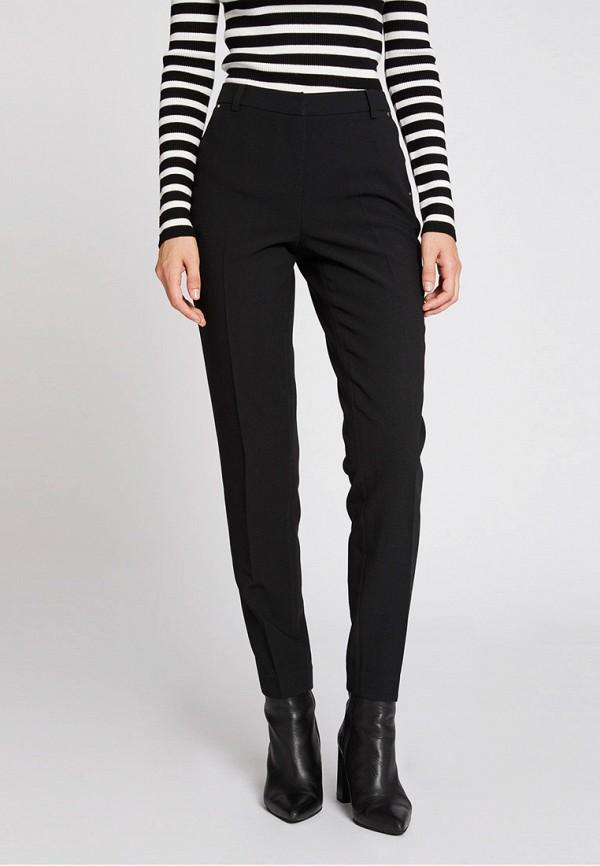 женские классические брюки morgan, черные