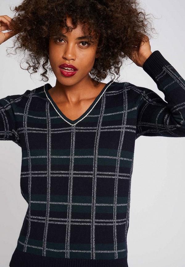 женский пуловер morgan, синий