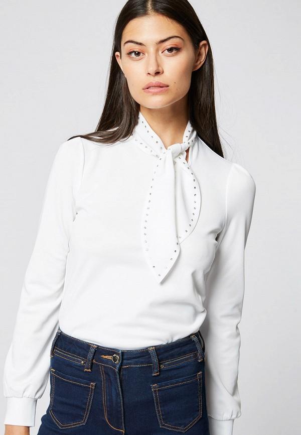 Купить Женскую блузку Morgan белого цвета