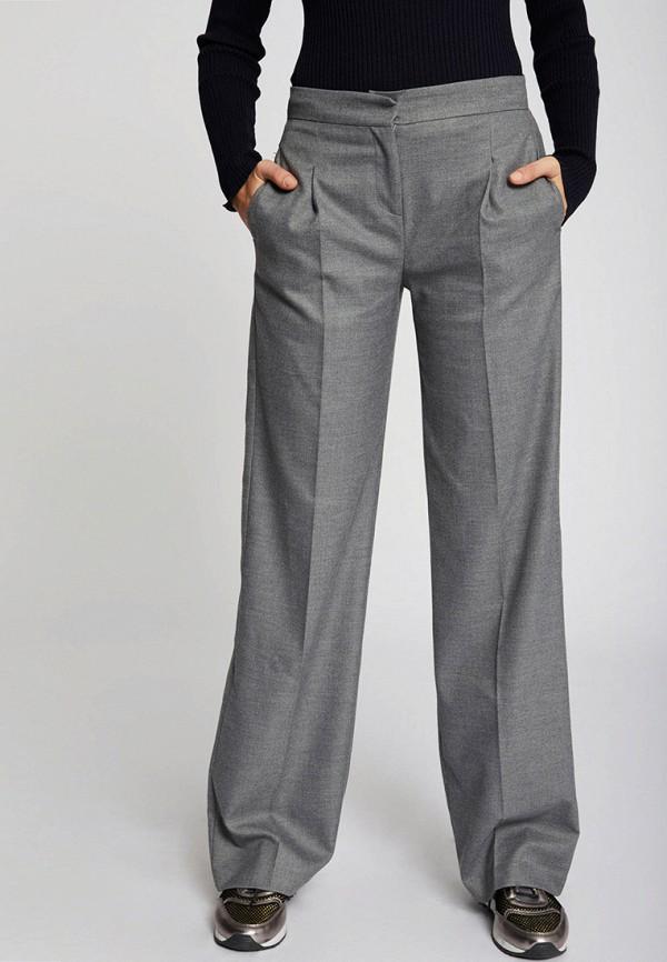 женские классические брюки morgan, серые