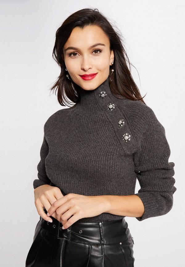 женский свитер morgan, серый