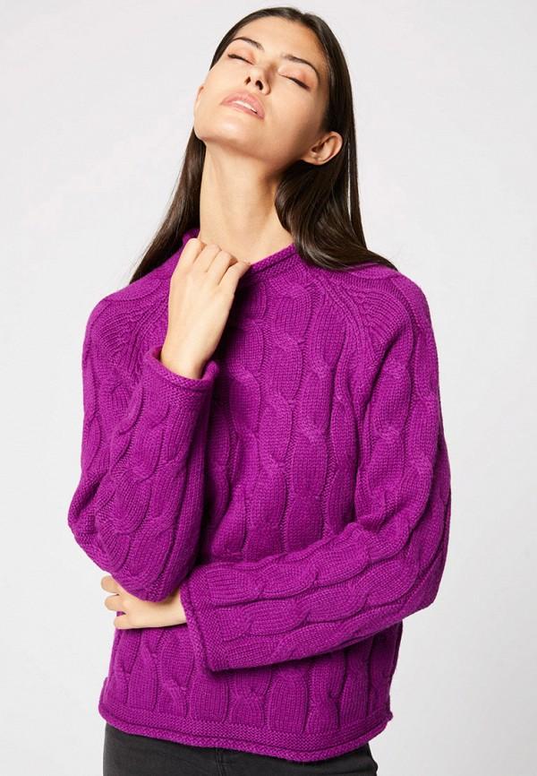 женский джемпер morgan, фиолетовый
