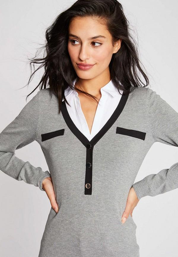 женский пуловер morgan, серый