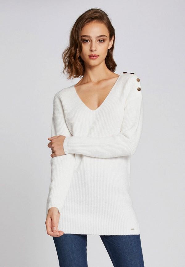 Купить Женский пуловер Morgan белого цвета