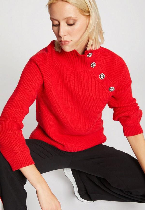 женский свитер morgan, красный