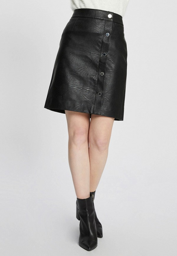 женская юбка morgan, черная