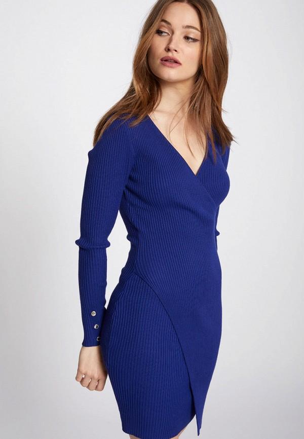 Купить Женское платье Morgan синего цвета