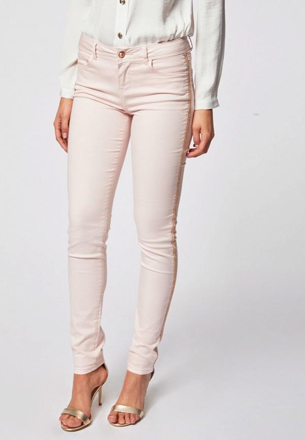 женские повседневные брюки morgan, розовые