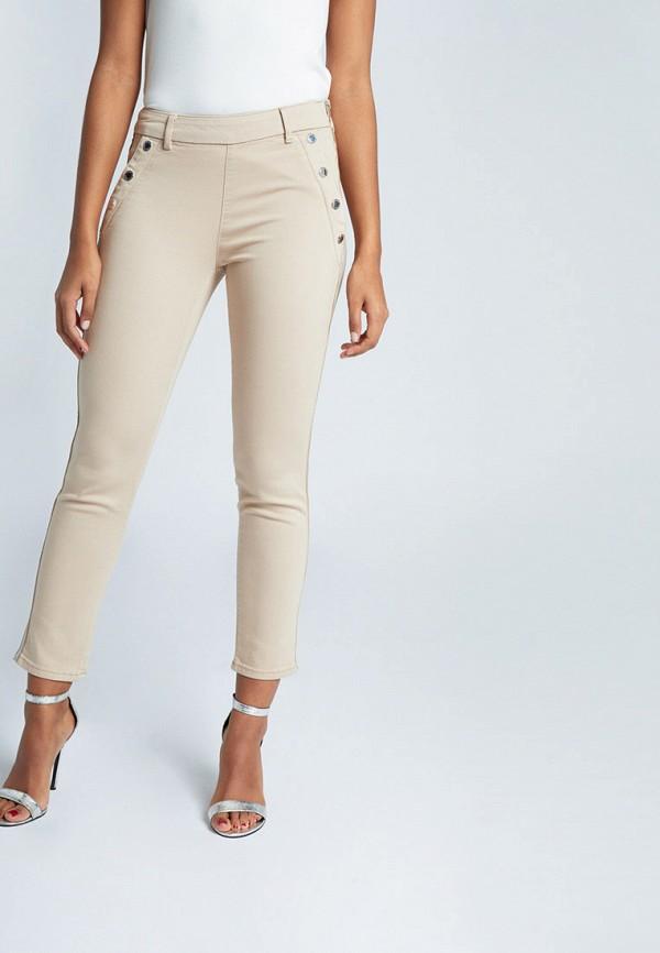 женские повседневные брюки morgan, бежевые
