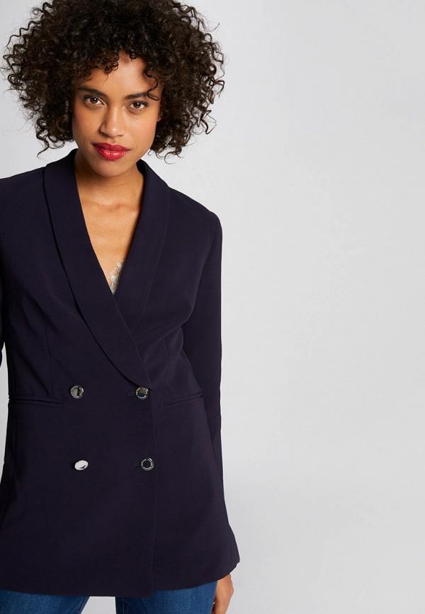 женский пиджак morgan, синий