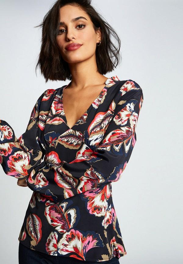 женская блузка morgan, разноцветная
