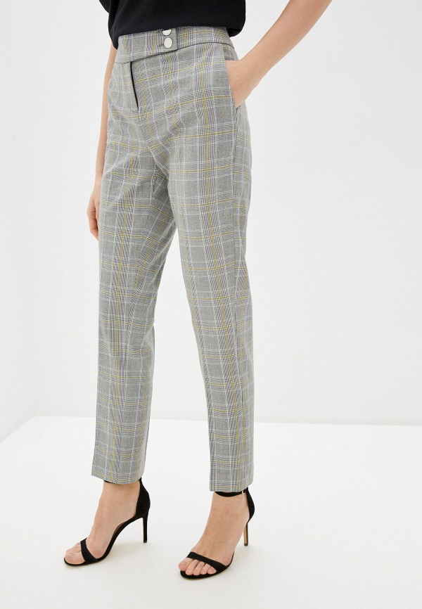 женские повседневные брюки morgan, серые