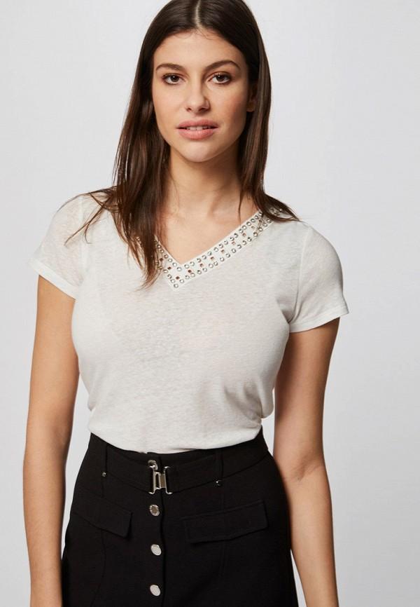 женская футболка morgan, белая