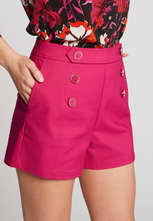 женские повседневные шорты morgan, розовые