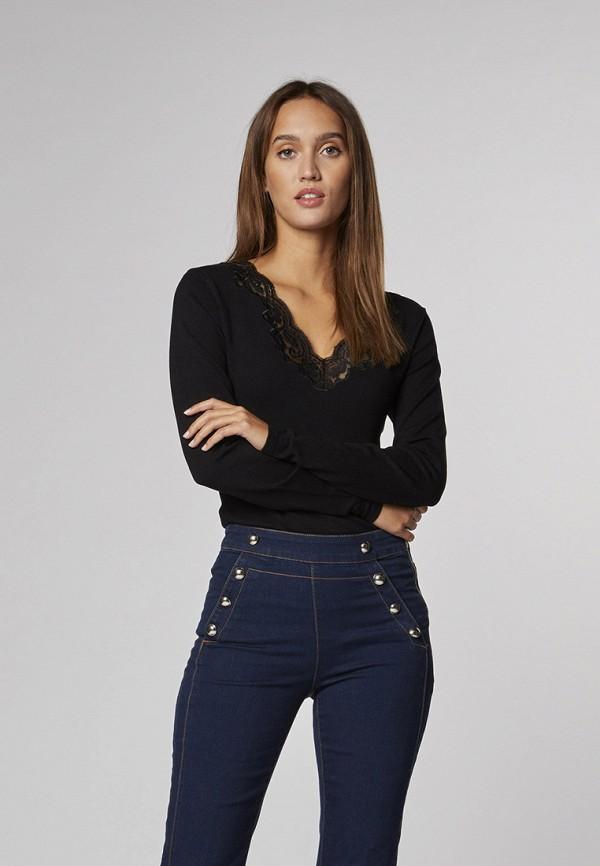 женские прямые джинсы morgan, синие