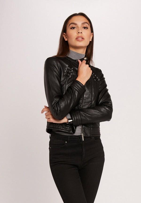 женская куртка morgan, черная