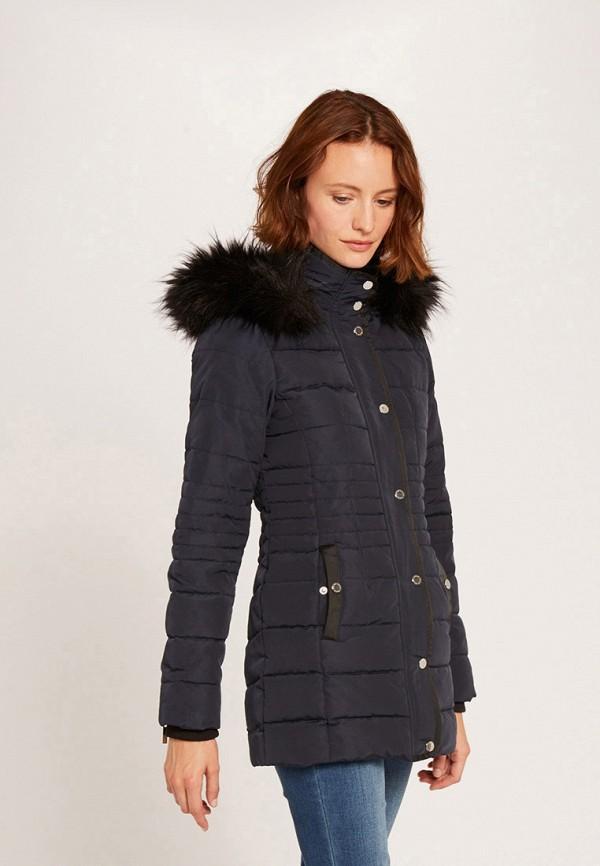 женская куртка morgan, синяя