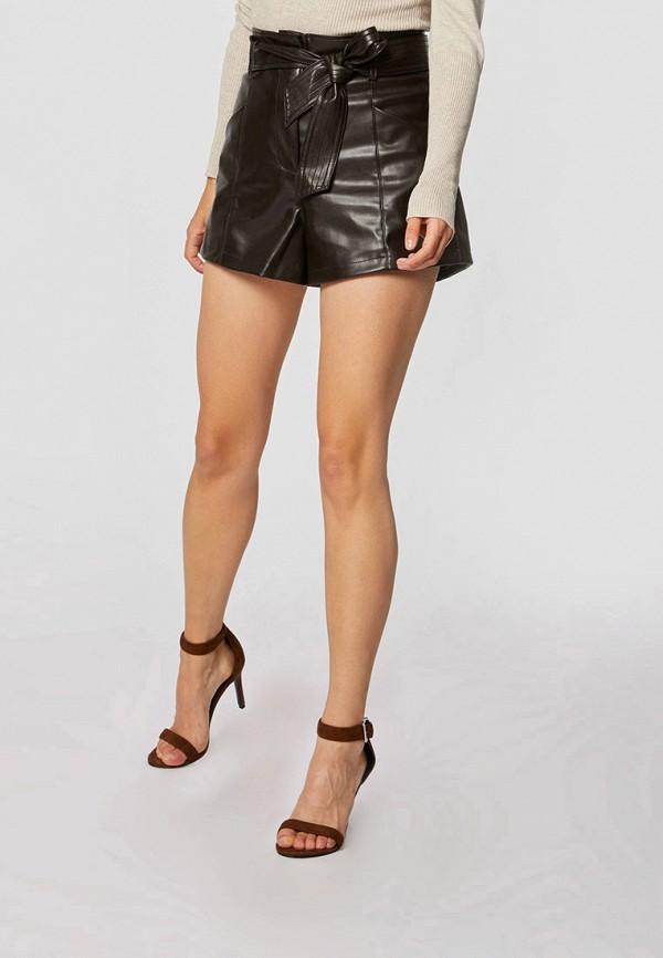 женские повседневные шорты morgan, коричневые