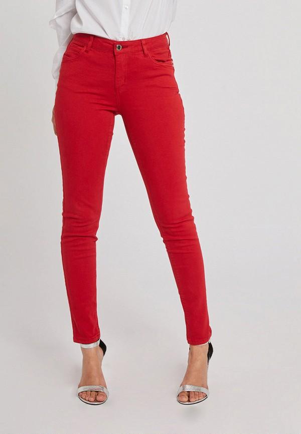 женские повседневные брюки morgan, красные