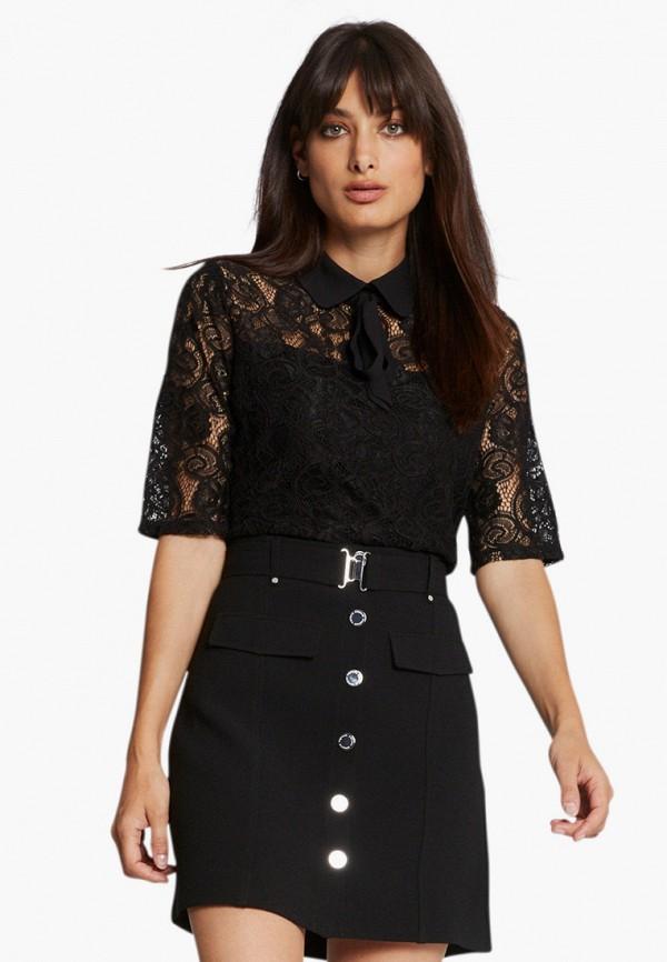 женская блузка morgan, черная