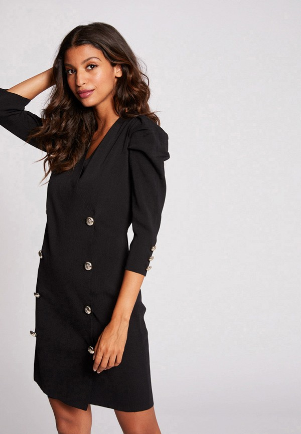 женское повседневные платье morgan, черное