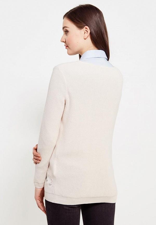 Фото 3 - женский пуловер Morgan бежевого цвета