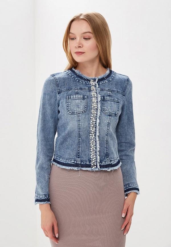 Куртка джинсовая Morgan Morgan MO012EWZIL85 юбка джинсовая morgan morgan mo012ewzil69
