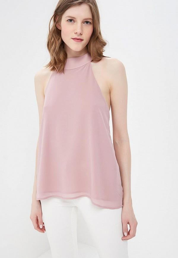 женский топ morgan, розовый