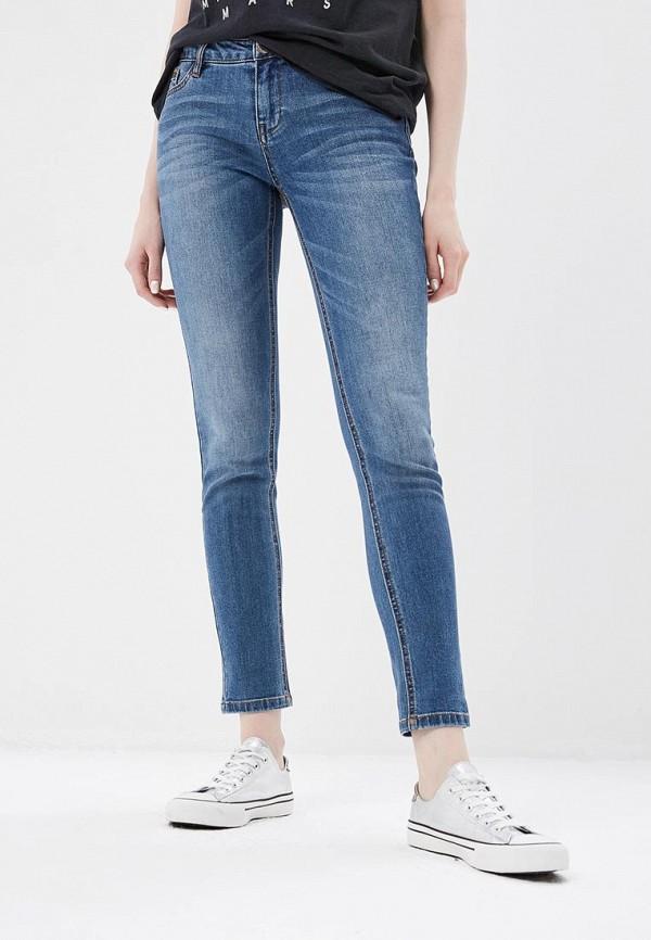женские джинсы morgan, синие