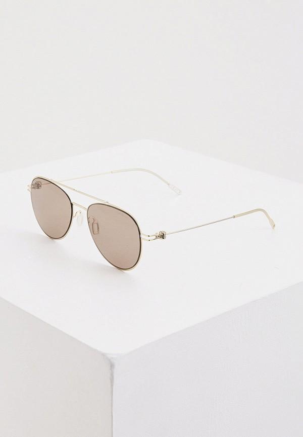 женские солнцезащитные очки montblanc, золотые
