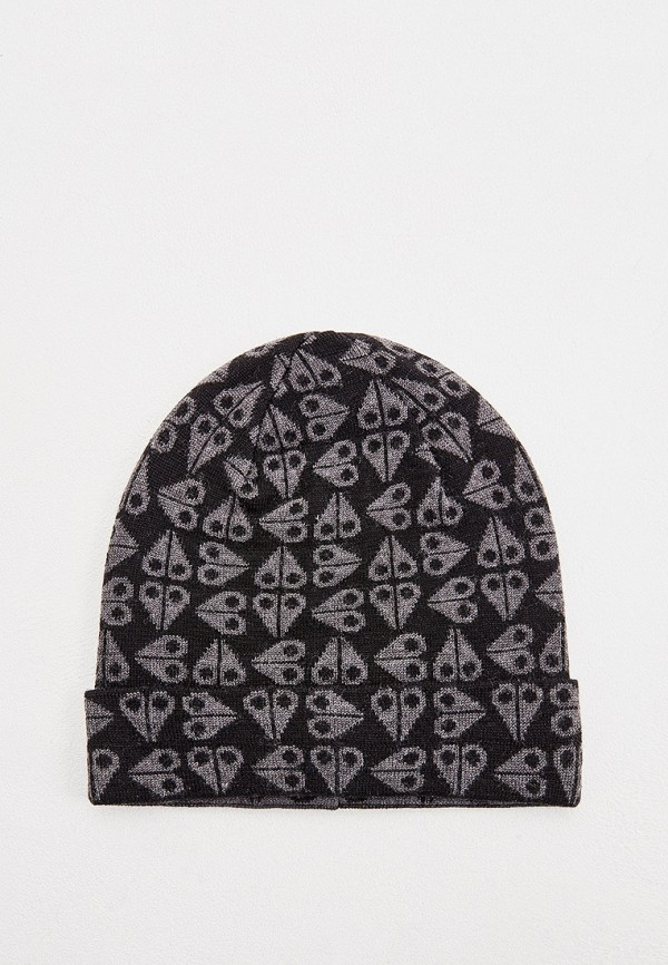 мужская шапка moose knuckles, черная