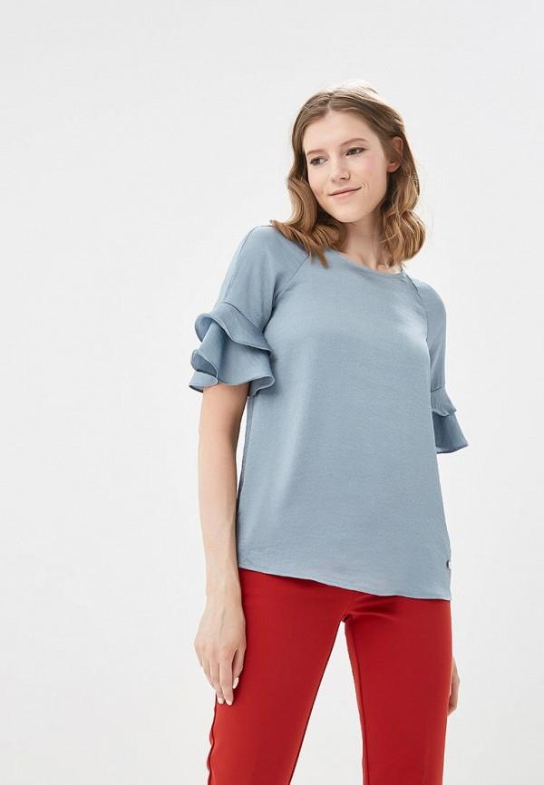 Купить Блуза Motivi, MO042EWATQL3, голубой, Весна-лето 2018