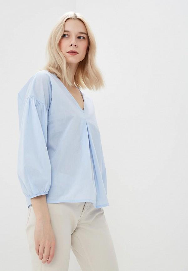 Купить Блуза Motivi, MO042EWATQL6, голубой, Весна-лето 2018