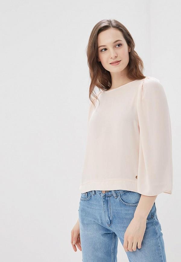Купить Блуза Motivi, MO042EWAXIH4, бежевый, Весна-лето 2018
