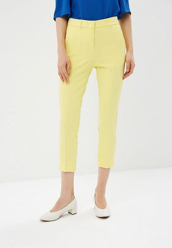 Купить женские брюки Motivi желтого цвета