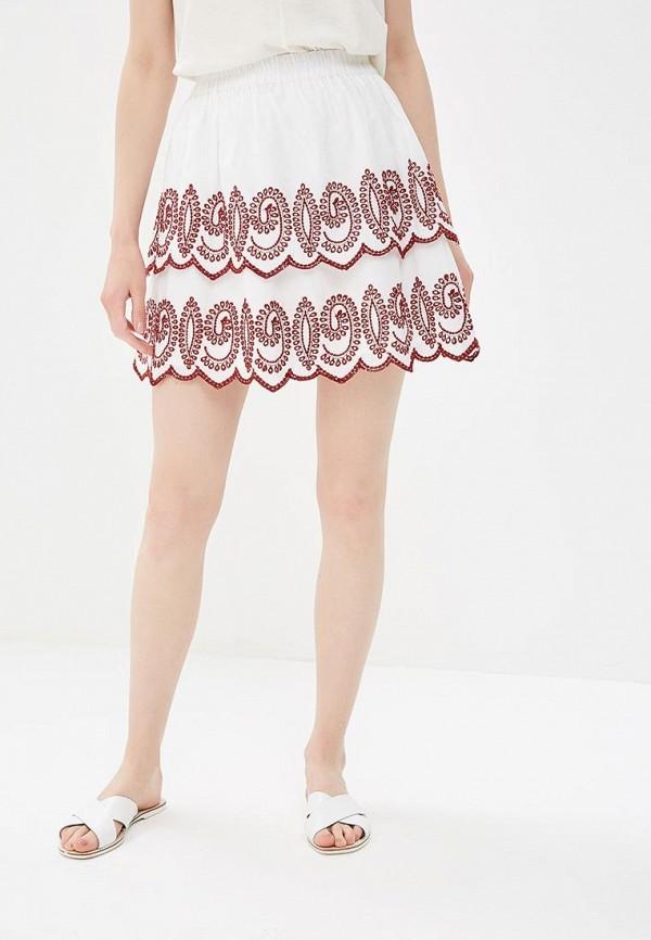 женская юбка motivi, белая