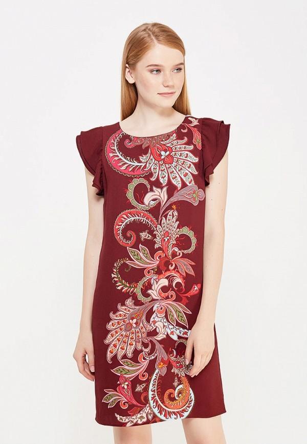 Купить Платье Motivi, MO042EWWRW46, бордовый, Осень-зима 2017/2018