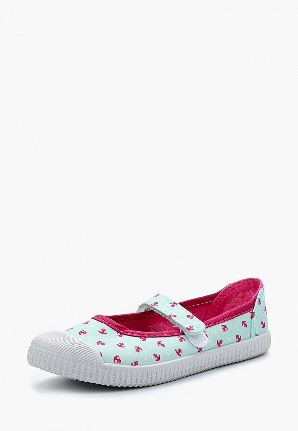 туфли modis для девочки, бирюзовые