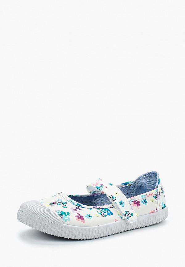 туфли modis для девочки, белые