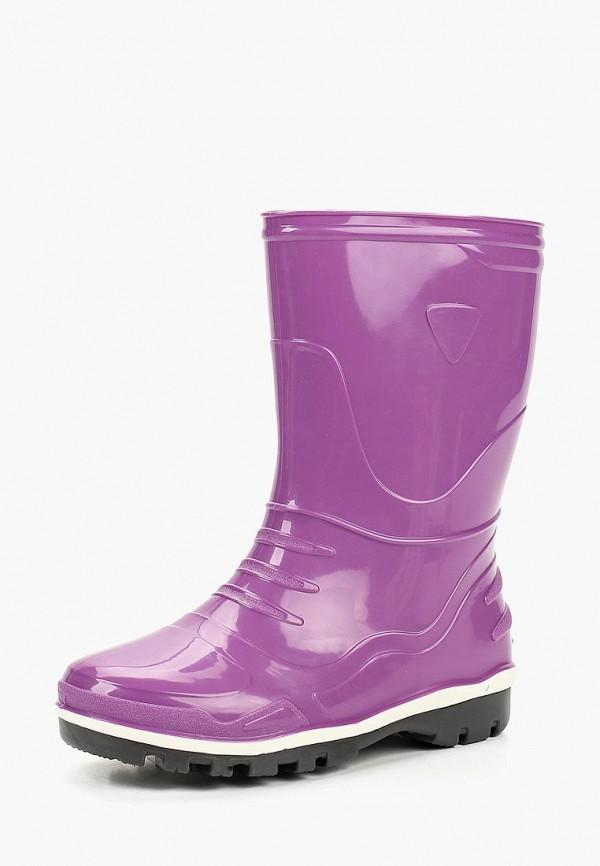 резиновые сапоги modis для девочки, фиолетовые