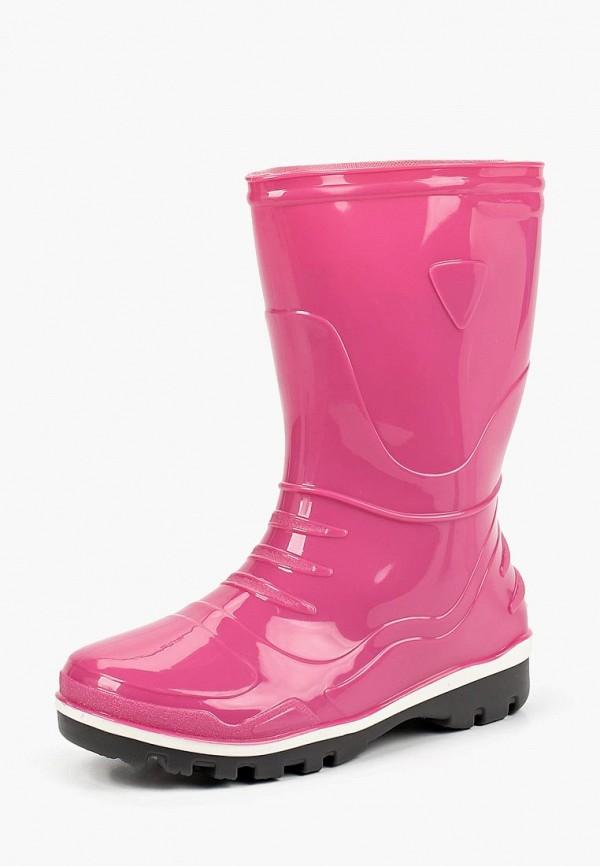 резиновые сапоги modis для девочки, розовые