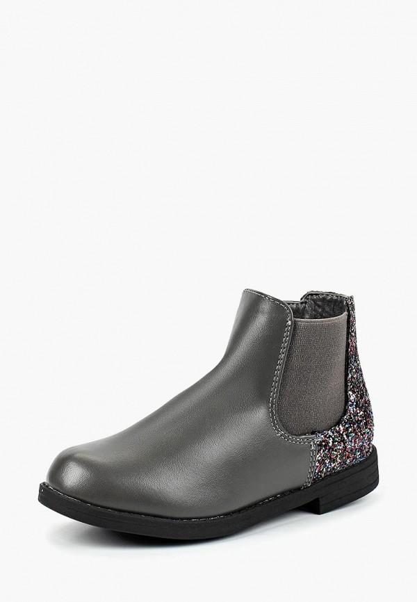 ботинки modis для девочки, серые